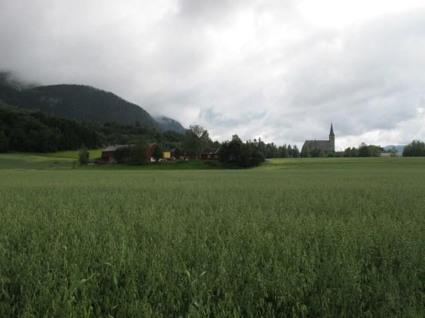Loddgarden og Melhus kirke