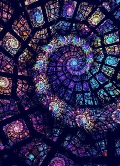Fractal spirals