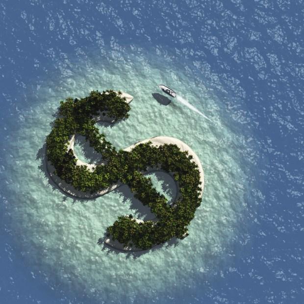 Dollar Sign Island