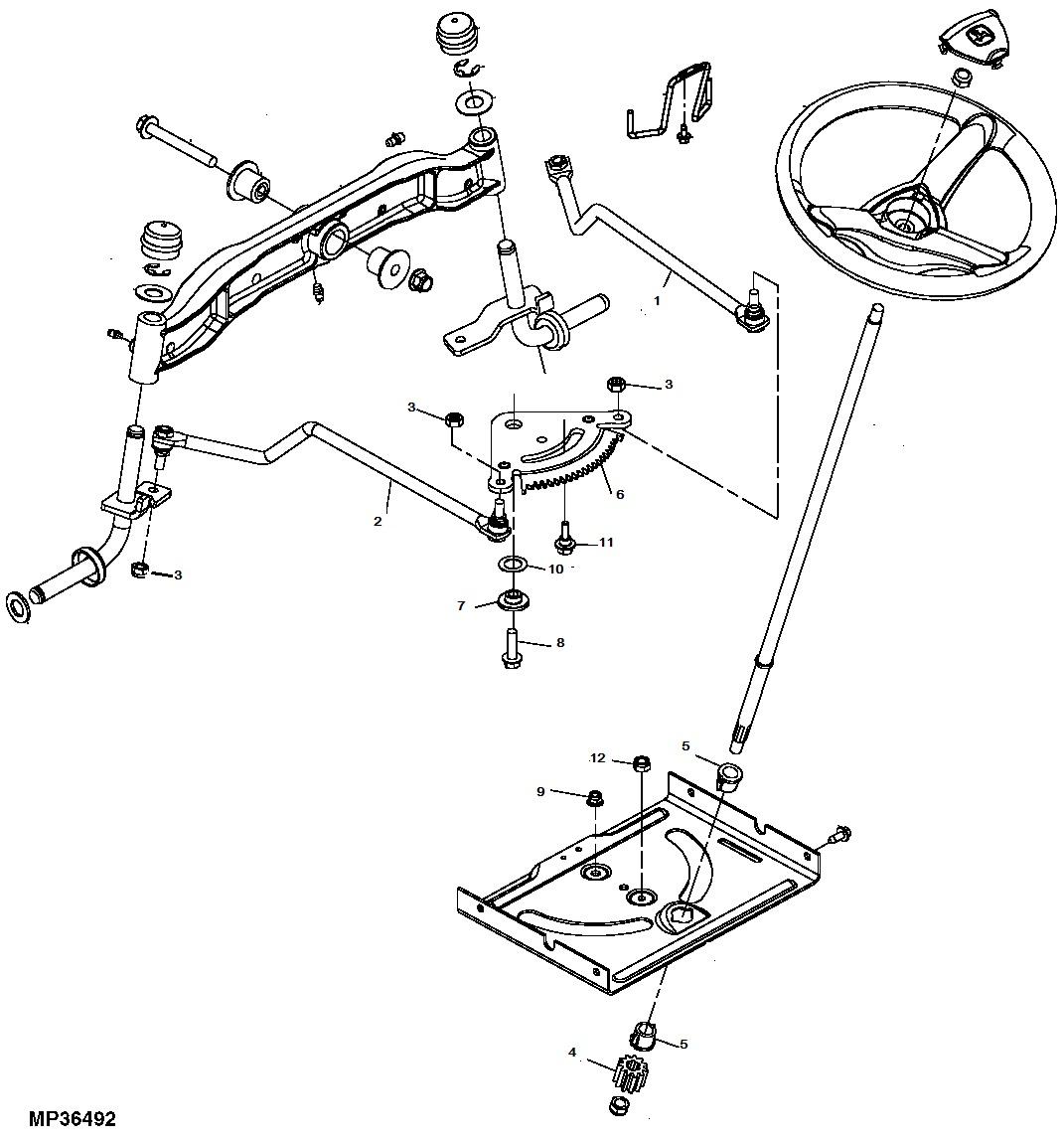 new kumar bros usa tractor steering kit fits john deere