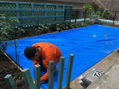 庭の整備8