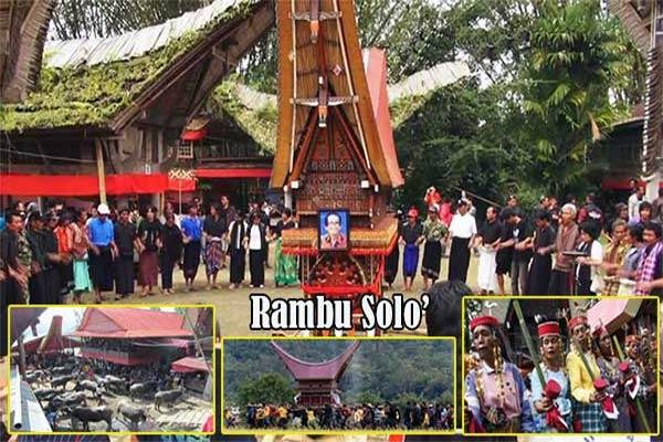 Rambu Solo' Upacara Pemakaman Adat Toraja