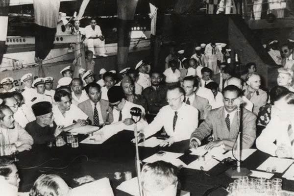 Penandatanganan Perjanjian Renville