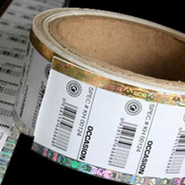 BAR CODE & INJECT LABELS