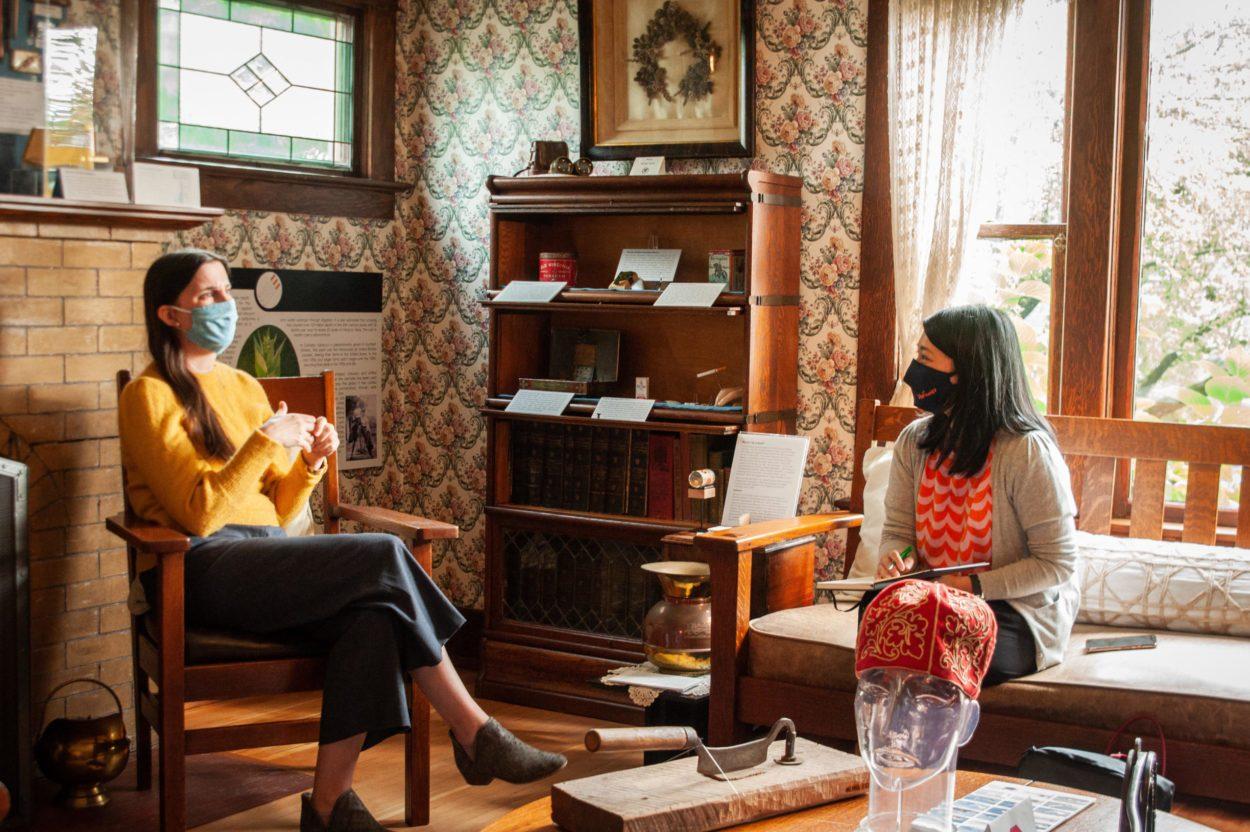 #WeAreTourism interview at Mackin House Coquitlam