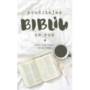 Prečítajme Bibliu za rok - ročný plán
