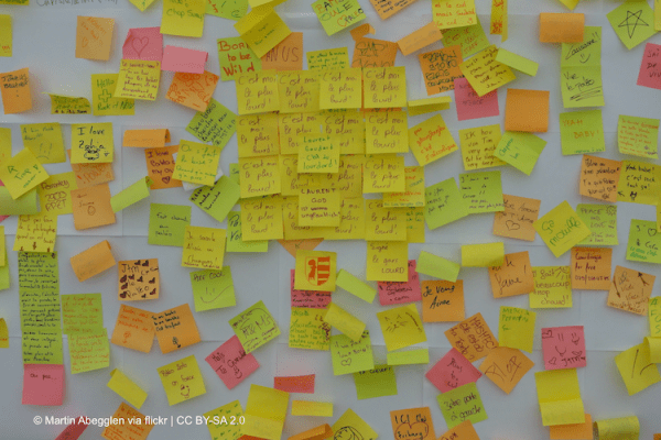 Post-it, flickr, Martin Abegglen