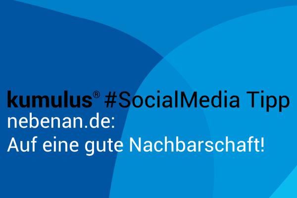 nebenan.de SocialMedia-Tipp