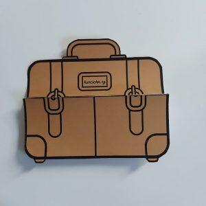 originální skládací kufr