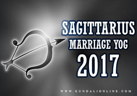 Sagittarius Marriage Horoscope 2017
