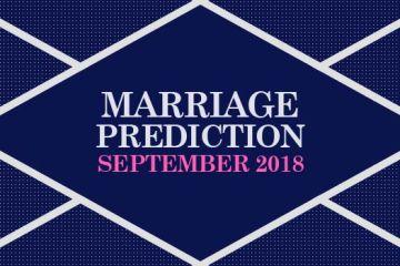 Marriage Prediction September 2018 Hindi