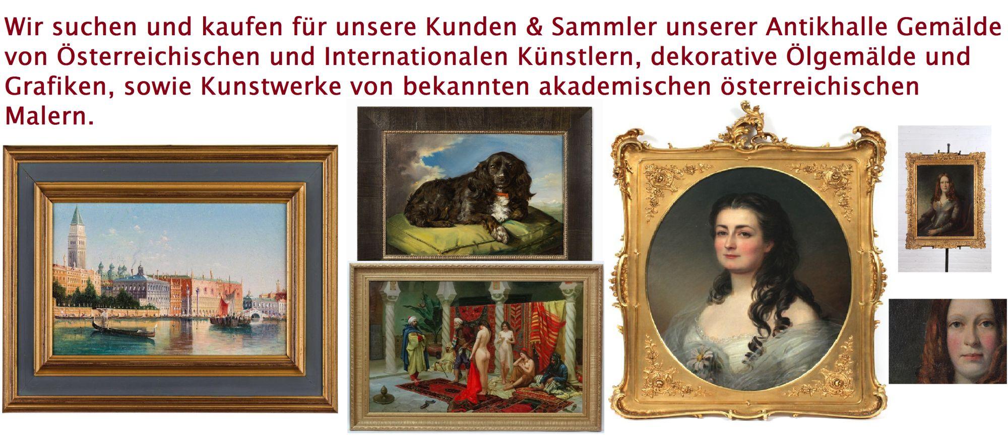 Impressionist Rostocker Maler Gustav Kuhn 1872 1949 Kornhocken
