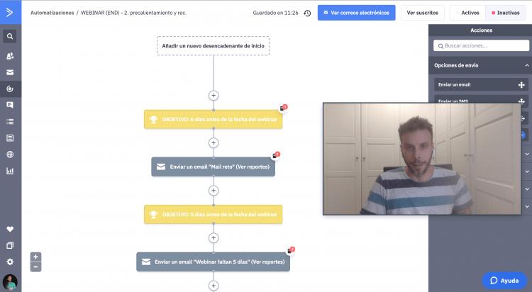consultoría ActiveCampaign para embudos de venta automatizados