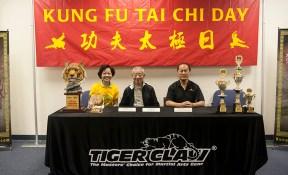 Press Conference: L-R Gigi Oh, Wu Bin, Gene Ching