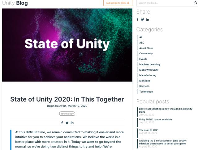 État d'unité