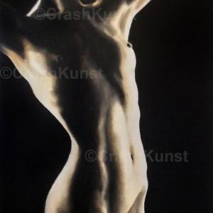Sexy / Erotikgemälde aus dem Meisteratelier von Crash
