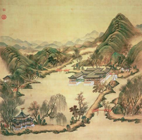 Alte Chinesische Malerei Stockfotos Freeimages Com