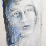 Selma 2, Acryl auf Papier 70x100cm