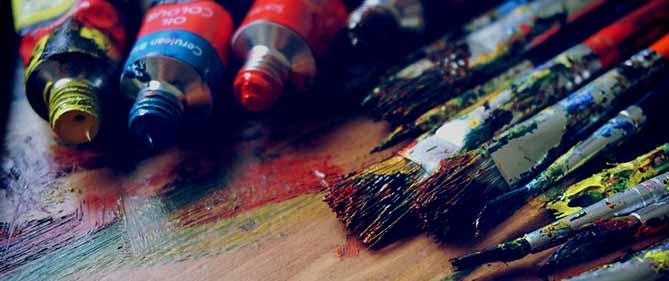 Kunstenaars uitgelicht pagina