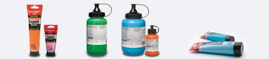 Wat is goede acrylverf - Soorten acrylverf - Amsterdam & Lascaux