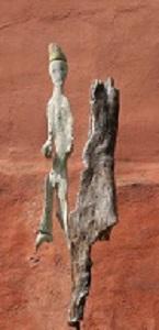 Hanno Wilden - Der kleine Prinz (2014), Totholz-Plastik, KunstGalerieHans