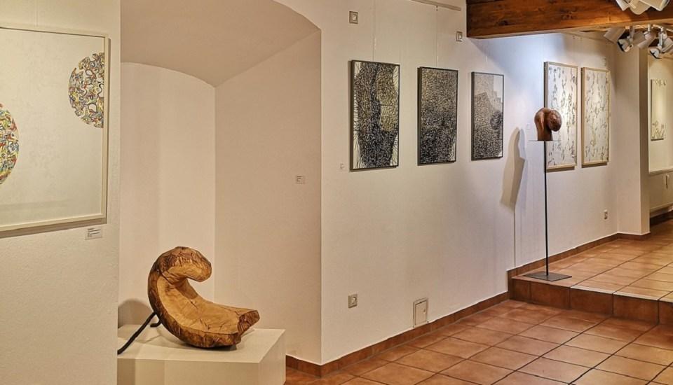 KunstGalerieHans - Das Andere im Gleichen - Blick in die Ausstellung