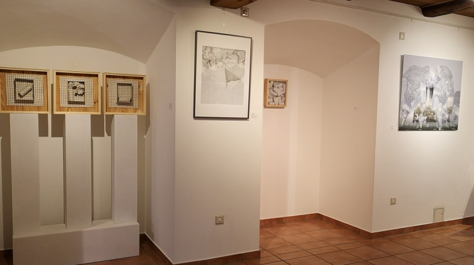 Ausstellung Merten Sievers - Papiermodelle und neue Grafiken (KunstGalerieHans 2019)