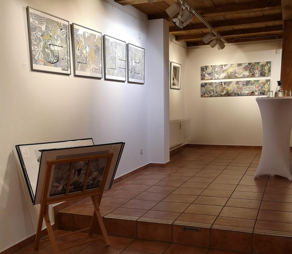 usstellung Merten Sievers in der KunstGalerieHans 2019