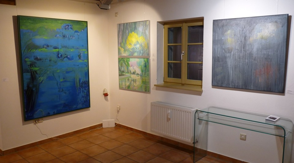 Ausstellung Landschaften Blick vorn (KunstGalerieHans 2019)