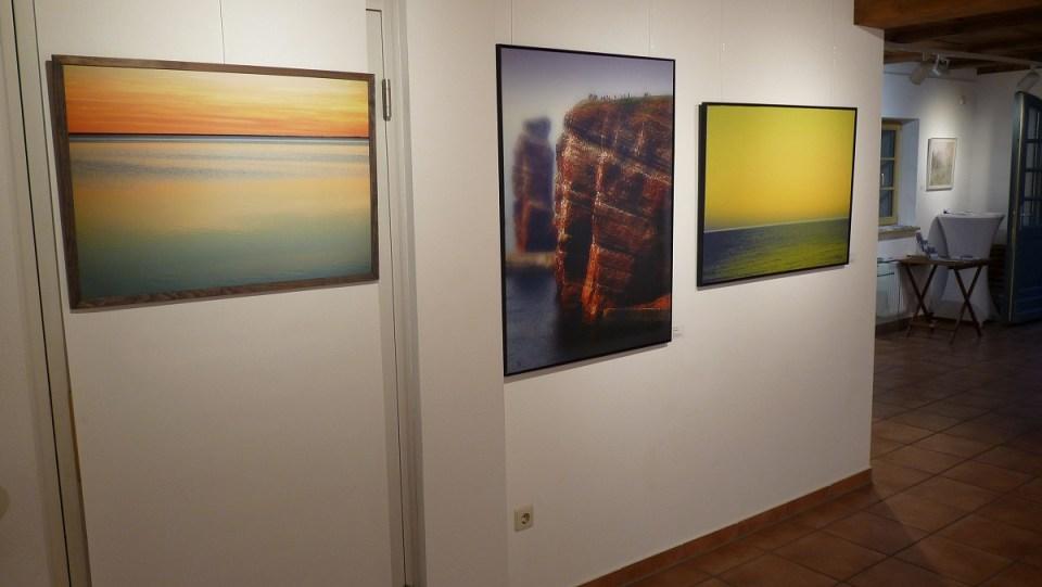 Ausstellung Landschaften - Fotografie Mimi Wilden und DigitArt Thomas Went (KunstGalerieHans 2019)