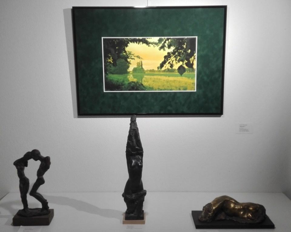 KunstGalerieHans - Ausstellung querbeet - Plastiken Ulrich Eissner und DigitArt-Fotografie Sophia Petalouda