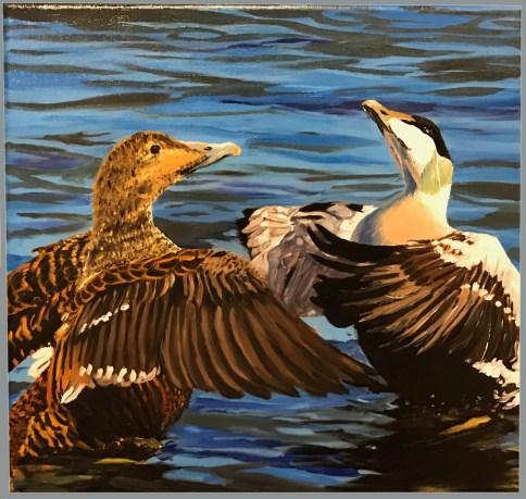 Bird dance by Bent Aune
