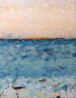 Horizon Pale by Ragnhild Adelheid Holten