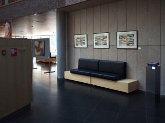 impressie expositie gemeentehuis