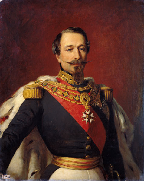 portrait of emperor louis napoleon iii
