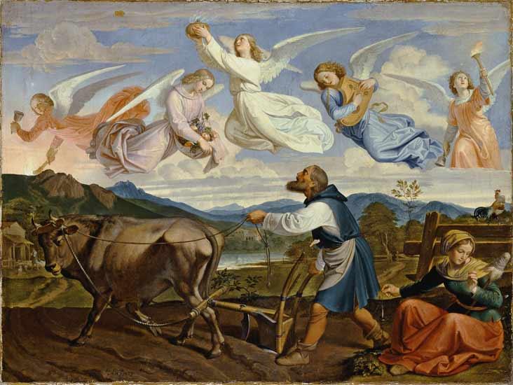 Joseph Ritter von Führich - Der Traum des hl. Isidor