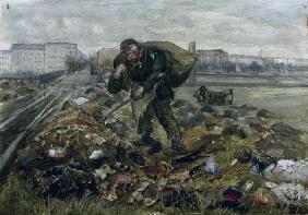 Zille, Heinrich : Heinrich Zille, Müllsammle...