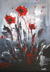 420 Acrylmalerei Mohnblumen Bilder Und Ideen Auf Kunstnet