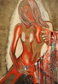 Originale Kunst Unikate Moderne Aktmalerei Online Kaufen