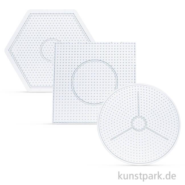 Steckplatte Bugelperlen Form Stern Transparent Fur Maxi