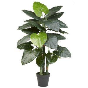 HTT Decorations - Kunstplant Philodendron (120x50 cm) - Kunstplantshop.nl