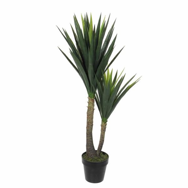 Mica Kunstplant Yucca (h120xd60cm) - Kunstplantshop.nl