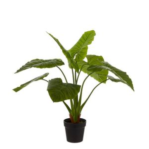 HTT Decorations - Kunstplant Philodendron (100 cm) - Kunstplantshop.nl