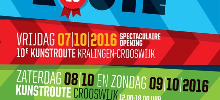 Inschrijving 10eKunstroute Kralingen-Crooswijk –Deadline: 1 juni a.s.