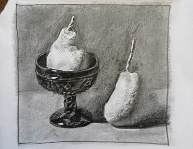 Vorzeichnung Andrei Krioukov