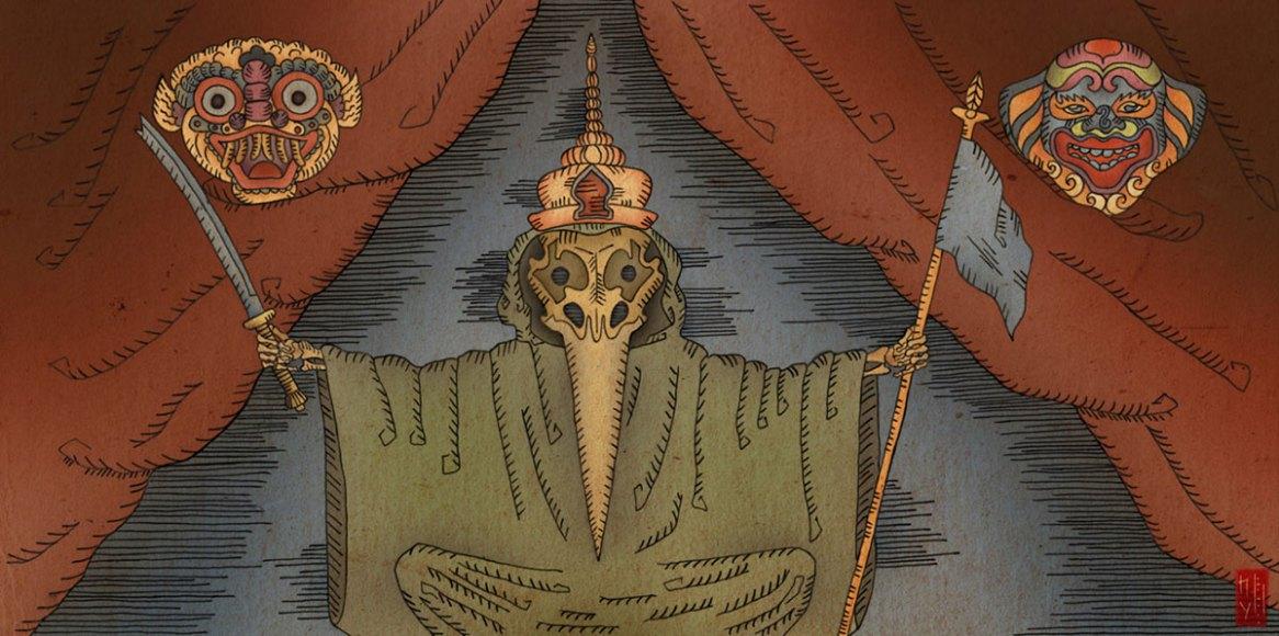 Illustration series for H.-C. Andersen