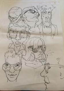 Vorzeichnungen Emmanuel Murzeau