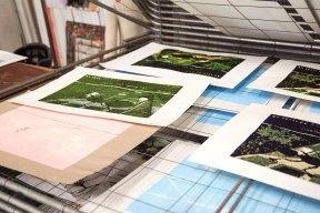 Linolschnitt mit Malte Hagen Olbertz