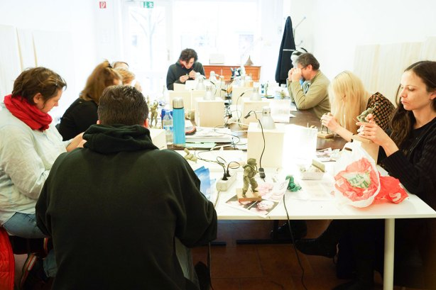 Modellieren im Sculpting-Workshop