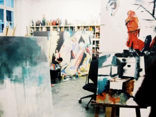 Teaser-Galerie Gruppenausstellung Let's paint!